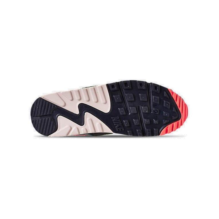 9bd43c2749 Nike Air Max 90 Premium SE Casual Oil Grey/Rainforest/Light Cream 858954  002 6 6 of 7 ...