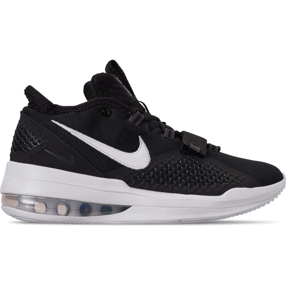 Details about Men's Nike Air Force Max Low Basketball Shoes BlackWhiteWhiteVolt BV0651 001