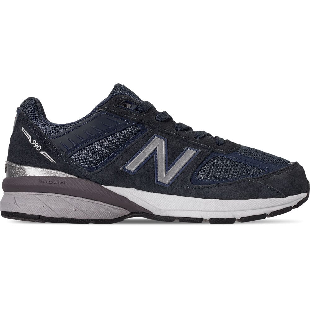 official photos 799b0 a71f3 Details about Boys' Big Kids' New Balance 990 V5 Casual Shoes Navy/Navy  GC990NV5 410