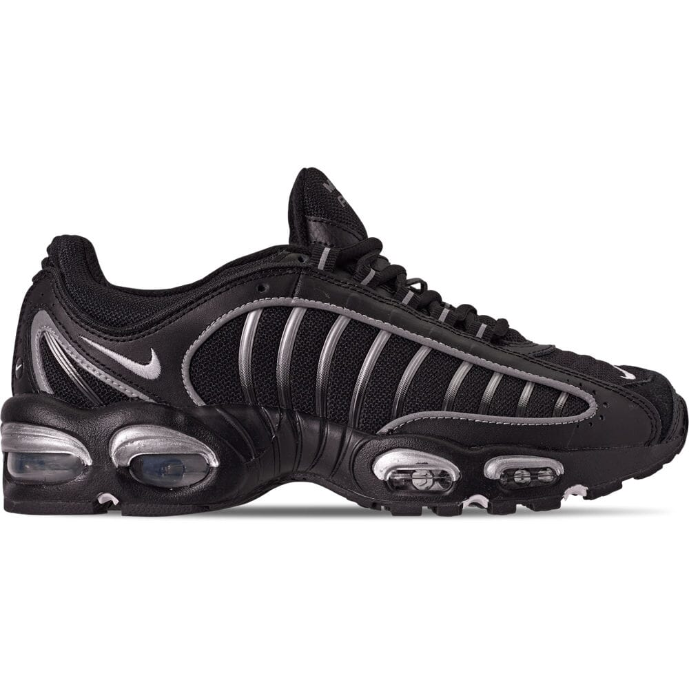 best service official images good Men's Nike Air Max Tailwind IV Casual Shoes Black/White/Metallic ...