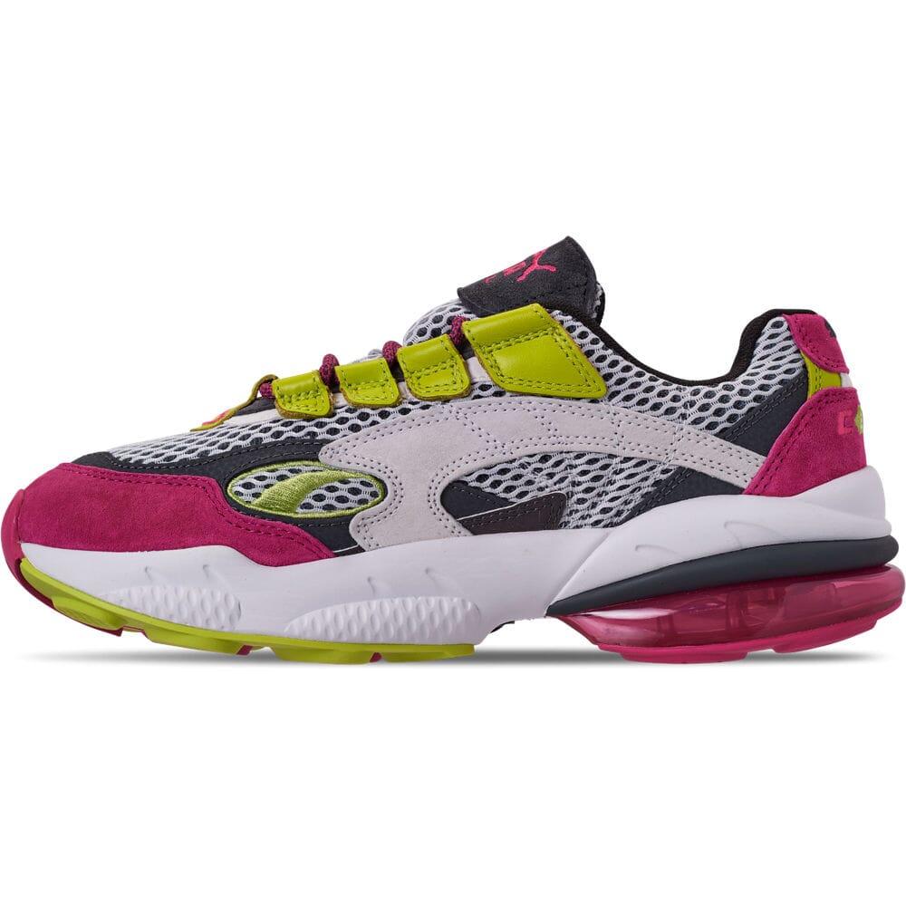Men/'s Puma Cell Venom Running Shoes Puma White//Fuchsia//Purple 37041501 001