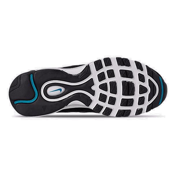 Men S Nike Air Max 98 Premium Casual Shoes White Teal Nebula