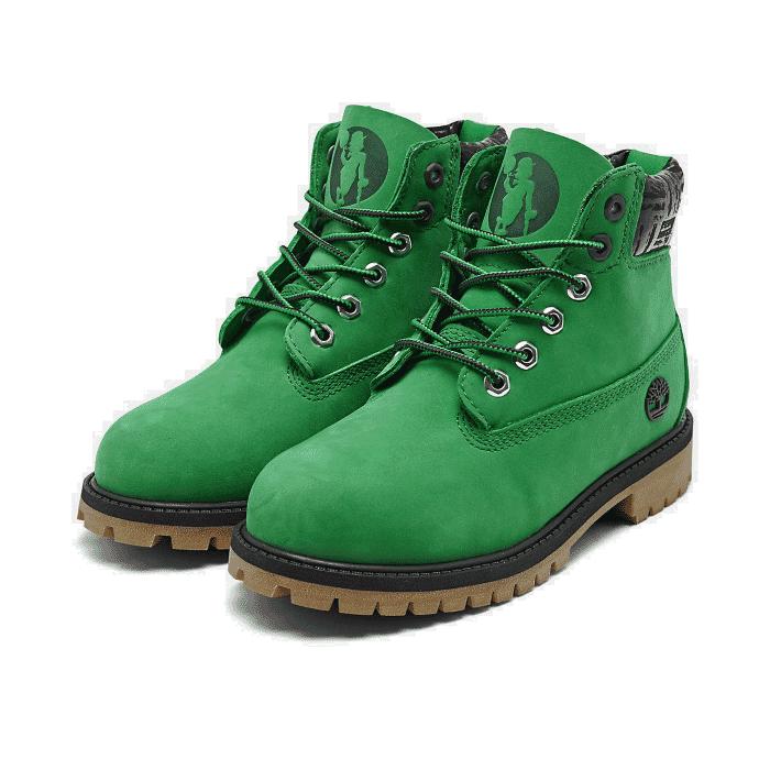 Timberland Juniors Boston Celtics NBA Premium Waterproof Boots Style A286F