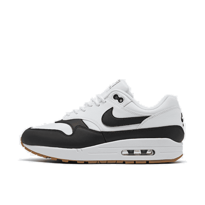 air max 1 trainers black black gum medium brown