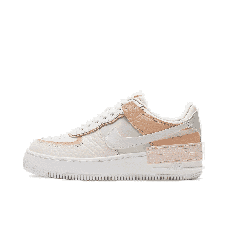 Details about Women's Nike Air Force 1 Shadow SE Spruce Casual Shoes  Aura/Sail/Black/White CK3