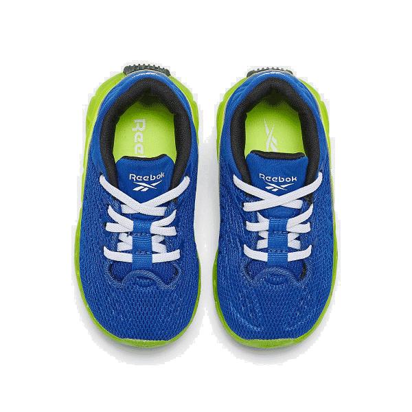 Boys' Toddler Reebok Zig Kinetica Running Shoes Blue/Green ...