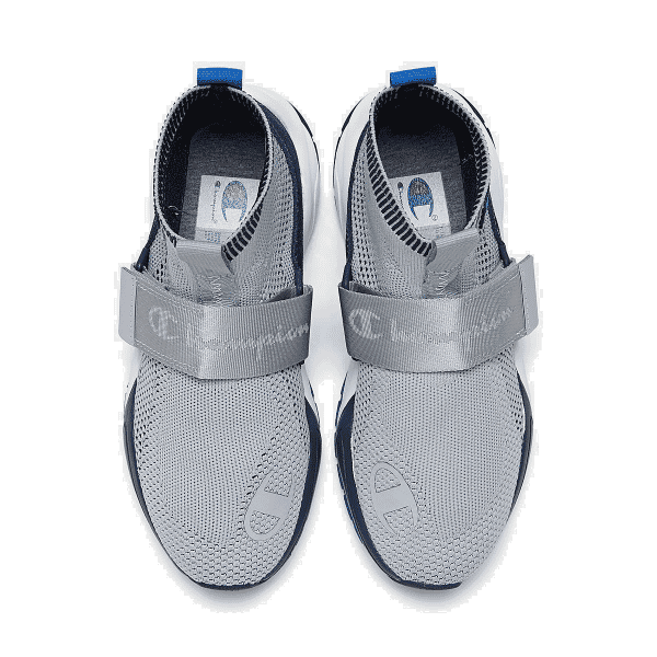 Boys/' Big Kids/' Champion Rally Lockdown Casual Shoes Silverstone//Navy P100244Y 0