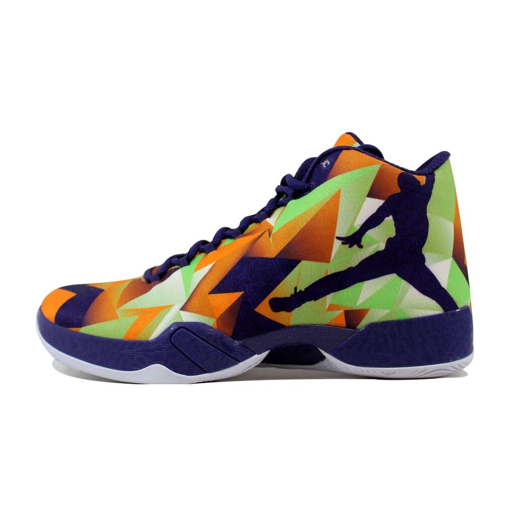 90ef86103029a7 Nike Air Jordan XX9 29 Mandarin Ink-White-Poison Green Hare 695515-805 SZ 11