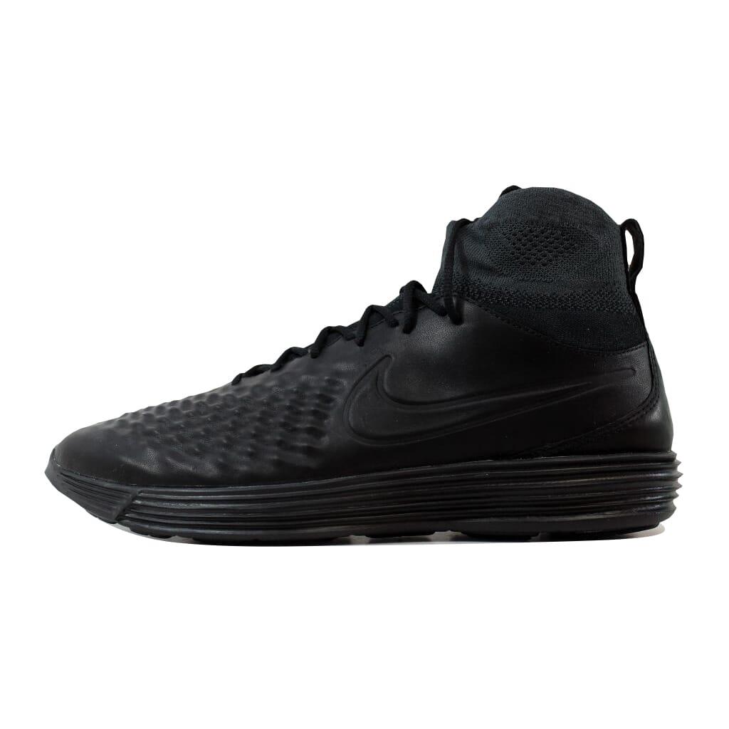 Nike lunar magista ii 2 / flyknit schwarz / 2 schwarz, anthrazit, weiße 852614-001 102495