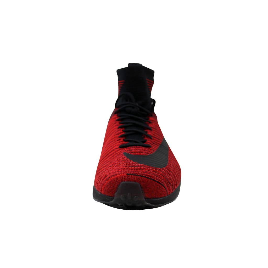 9c0a6958a5c Nike Zoom Mercurial XI 11 Flyknit FC University Red Black-Red 852616 ...