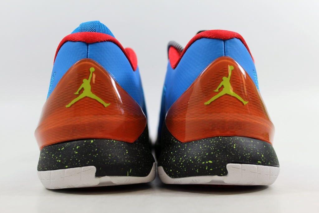 c7b8772f904805 Nike Air Jordan CP3 VIII 8 BG Photo Blue Cyber-Orange-Blk 684876-470 ...