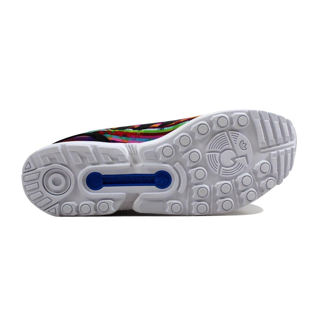 6eb16fbe6 Adidas ZX Flux White Black-Bluebird S76504 Men s SZ 11 889765329317 ...