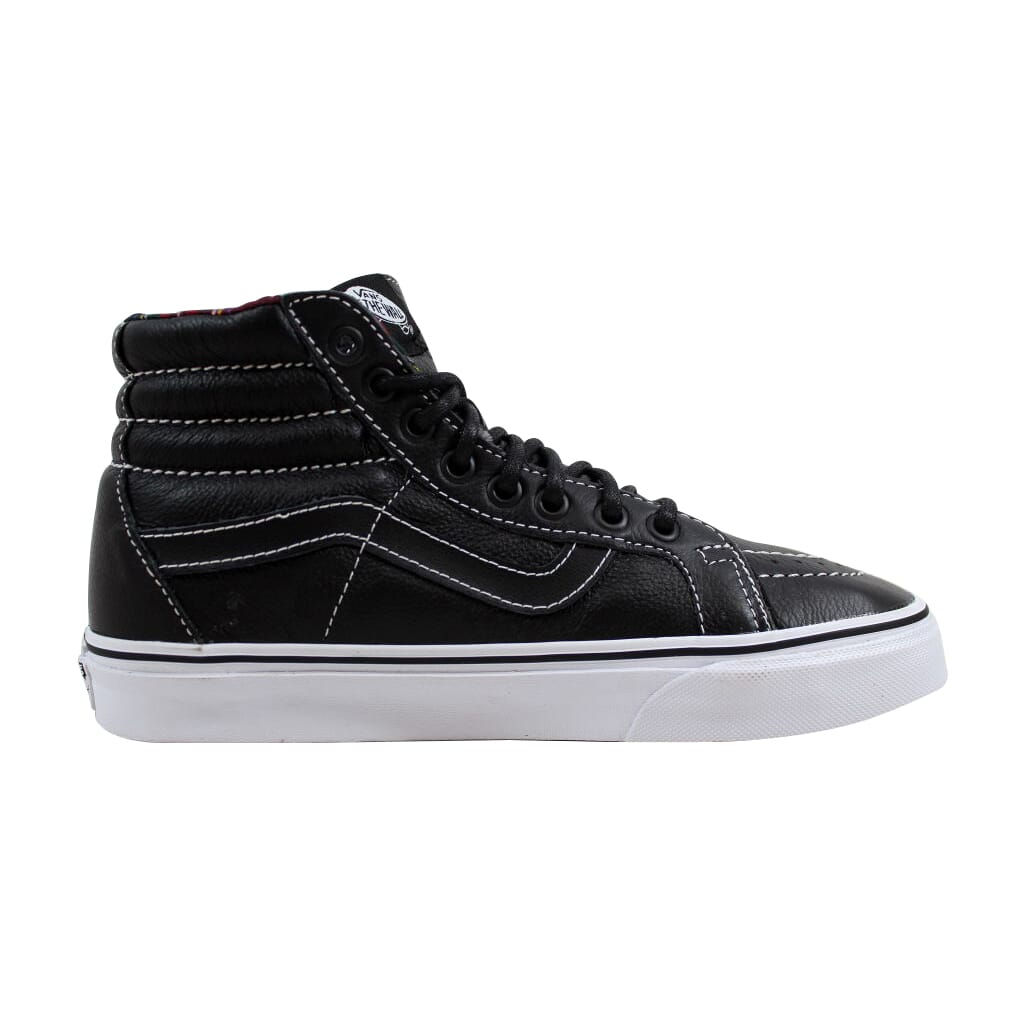1b6f8147f13d Vans Sk8 Hi Reissue Black Plaid Leather VN0003CAI1I Men s SZ 6