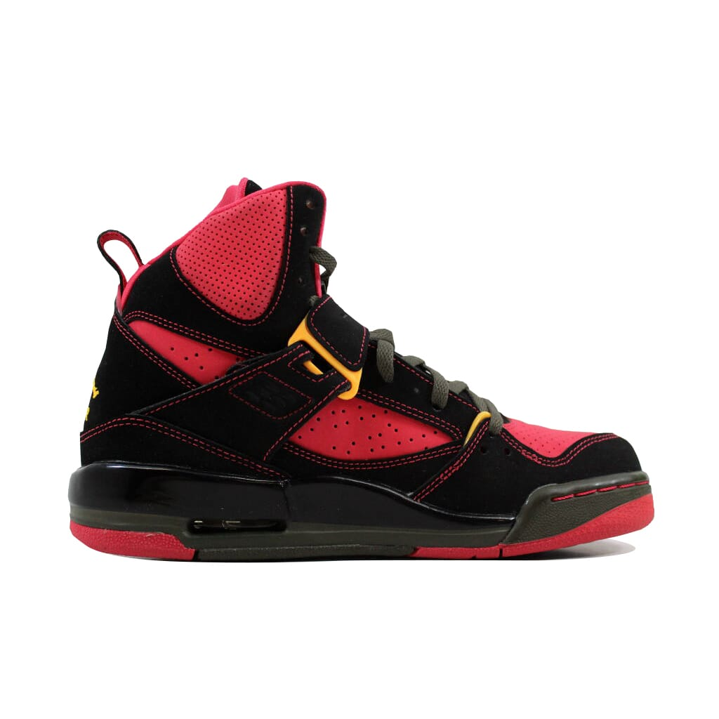 986ef9e4ffd89 Nike Air Jordan Flight 45 High Blk/Orange-Red-Cargo Khaki 524864-026 ...