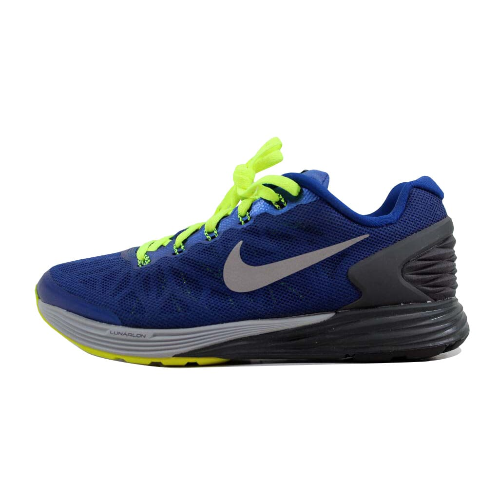 low priced d8159 139b3 wholesale nike lunarglide paginas online de zapatos 6 e2c1f 8ed24  ireland nike  lunarglide 6 gym blue silver anthracite wolf grey 654155 400 gs sz 4.5y