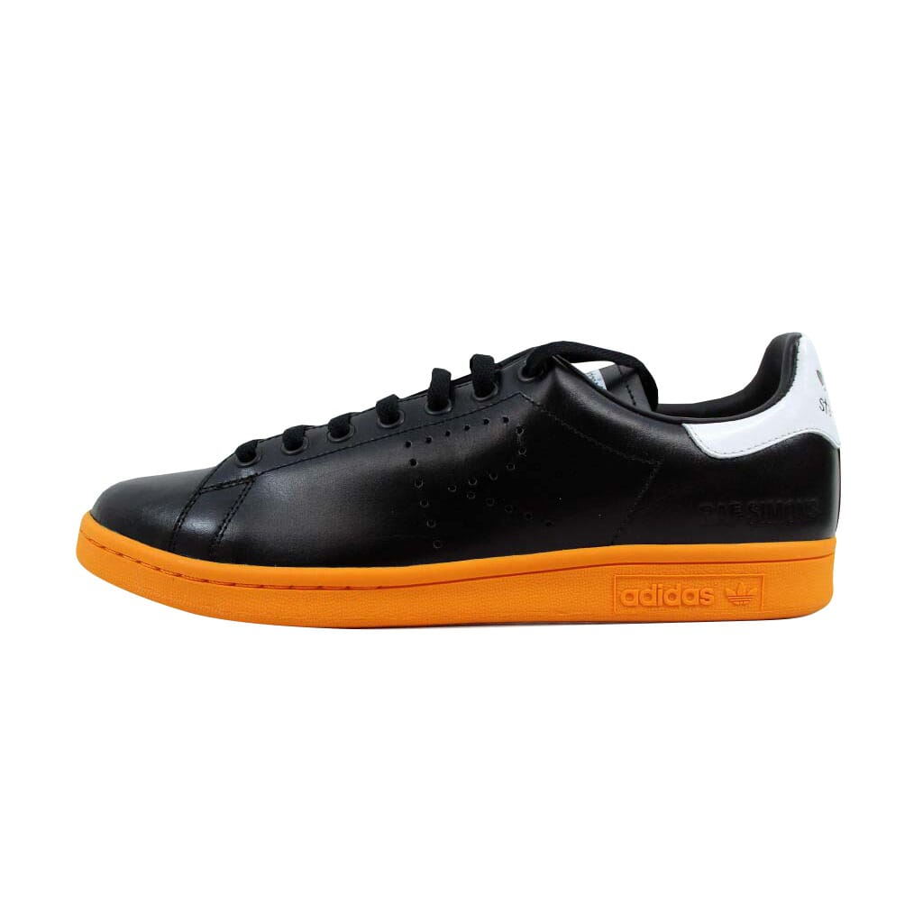 competitive price 71a59 6bb33 Adidas Raf Simons Stan Smith Black Orange-White BB2647 Men s Size 7