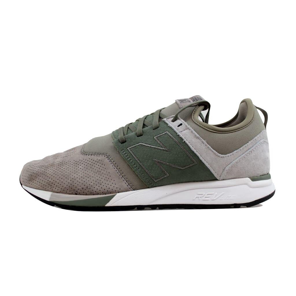 new balance 247 cinza e verde