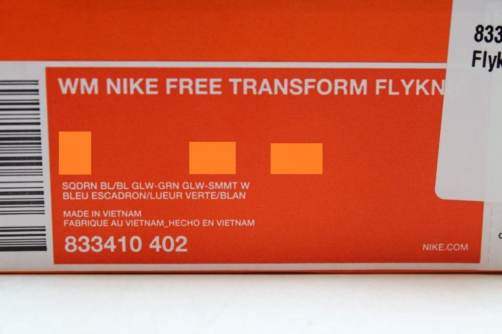 Nike Free Transform Flyknit SZ Squadron Blau/Green Glow-Summit Wht 833410-402 SZ Flyknit 6 a85e02