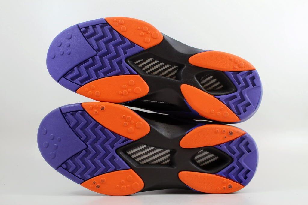 461bf6f7c9df Reebok Shaq Attaq Black Purple-Orange Big Shaqtus Men s V61029 SZ 11 ...