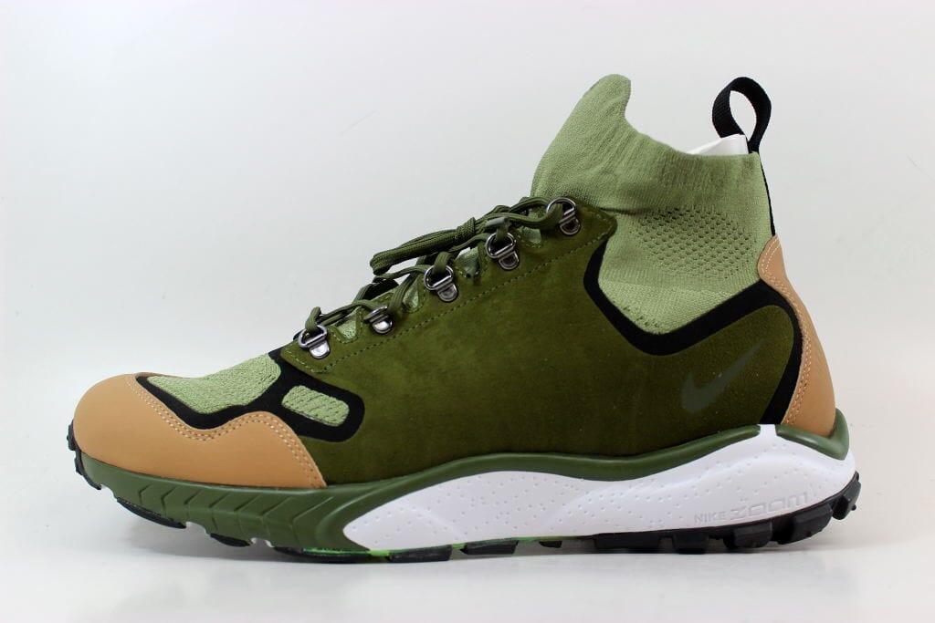 8117551970bcc Nike Air Zoom Talaria Mid Flyknit Premium Palm Green Legion 875784-300 SZ  10.5