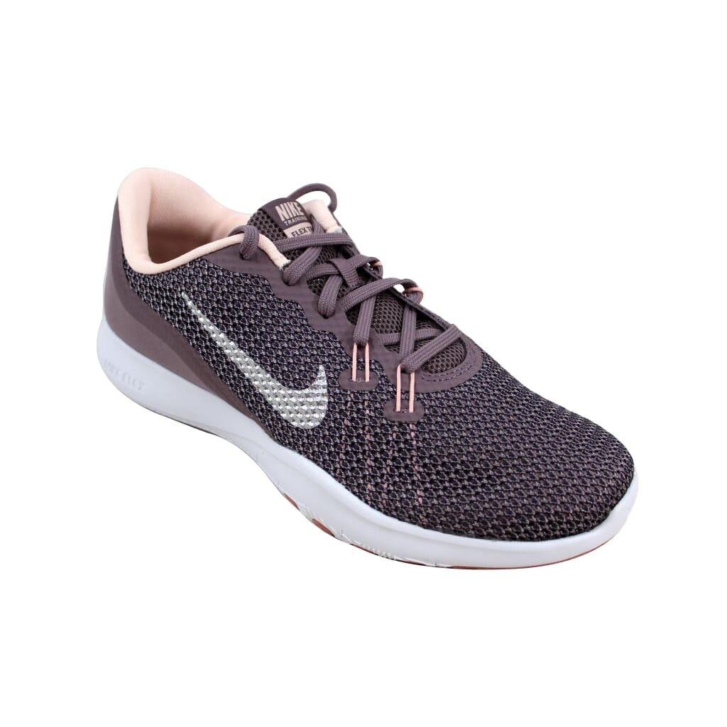 Nike Flex Trainer 7 Bionic Taupe Grey Metallic Silver 917713-200 ... 015a53a2b79b9