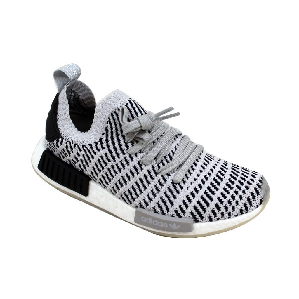 c5a7fb4f78a67a Adidas NMD R1 STLT PK Grey Black-White CQ2387 Men s SZ 8 ...