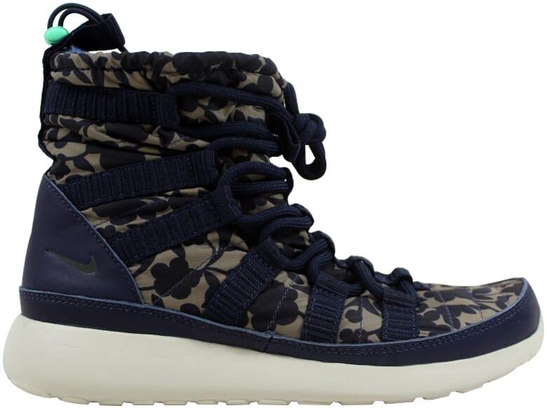 55edabd027926 Nike Roshe One Hi Liberty QS Obsidian Cargo Khaki-Green Glow 821776 ...