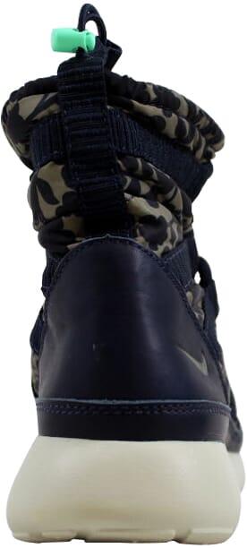 93675850db060 Nike Roshe One Hi Liberty QS Obsidian Cargo Khaki-Green Glow Women s 821776- 400 Size 6 Medium