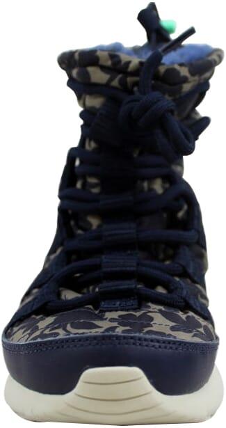 c983b51eb9bc Nike Roshe One Hi Liberty QS Obsidian Cargo Khaki-Green Glow 821776 ...