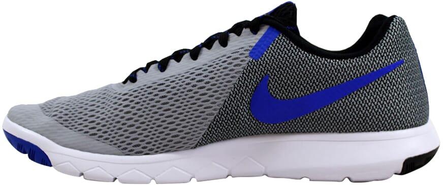 3809fe3b45d9 Nike Flex Experience RN 5 Wolf Grey Racer Blue-Black 844514-004 ...