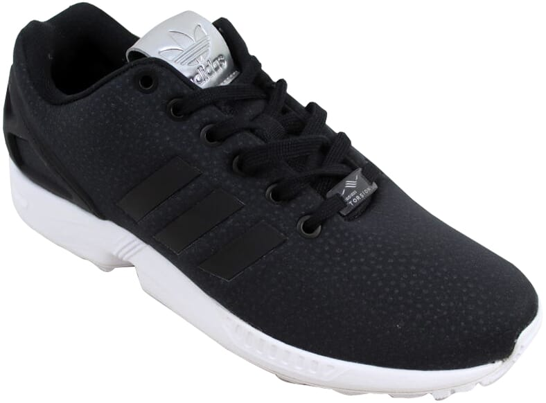 8e8a42c89 Adidas ZX Flux W Black Black-Silver Metallic BY9215 Women s Size 7 ...