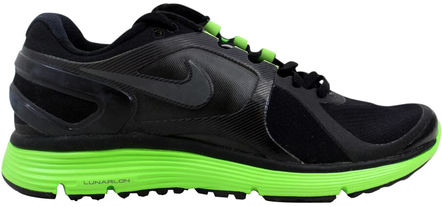 8deeaff2ab Nike Lunareclipse+ 2 Shield Black Dark Grey-Electric Green 537918 ...