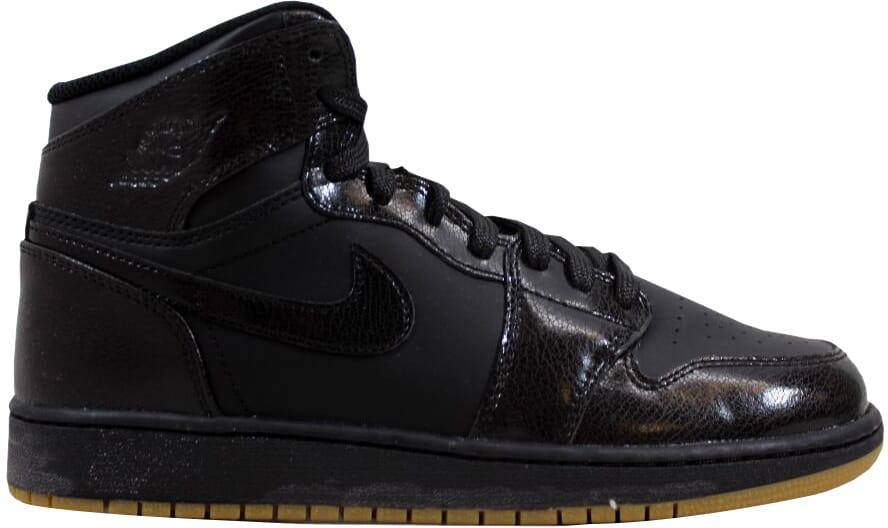 afaa35d11a6 Nike Air Jordan I 1 Retro High OG BG Black/Gum Light Brown 575441 ...