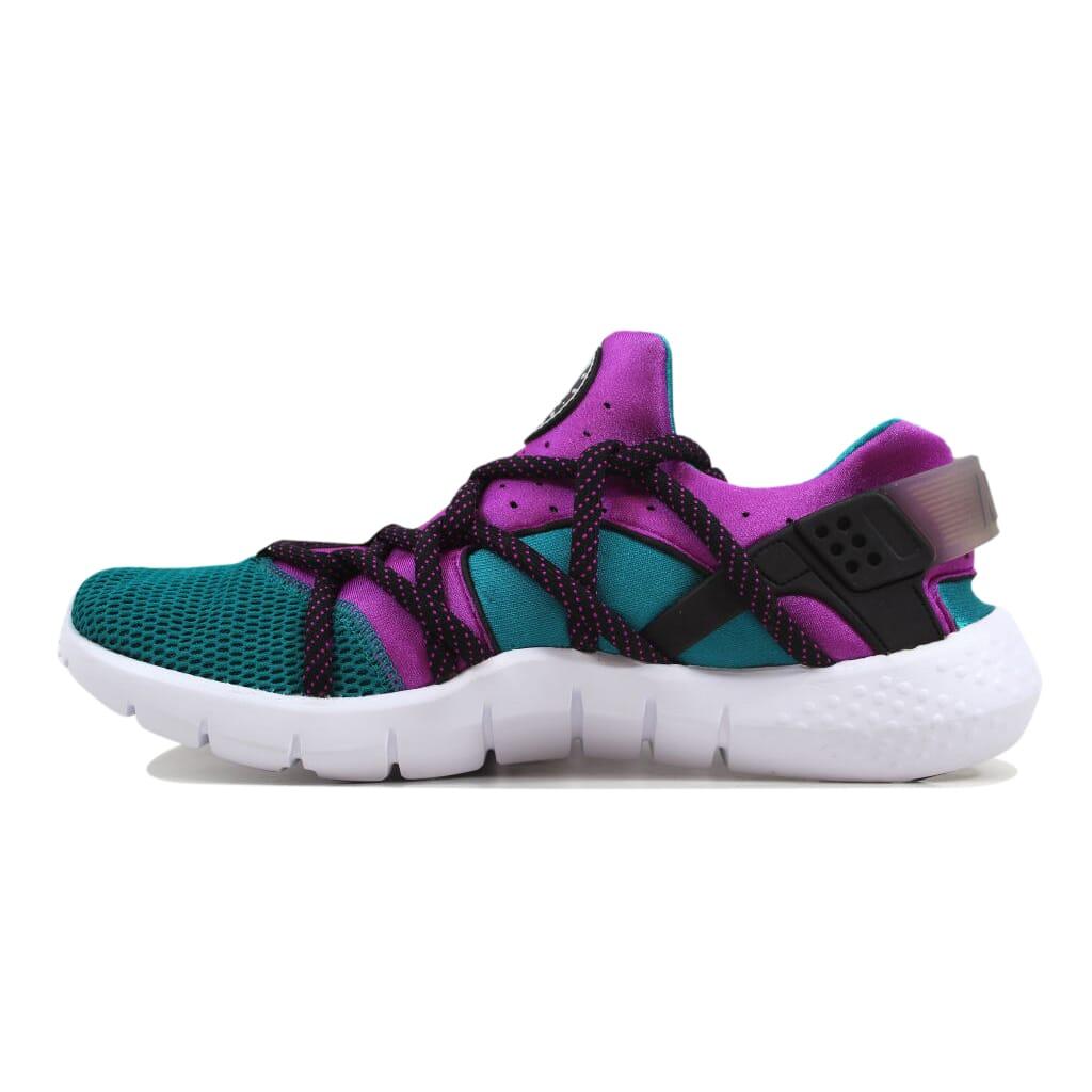 52def141bad2 Nike Huarache NM Radiant Emerald Fuchsia Flash-Black 705159-305 ...