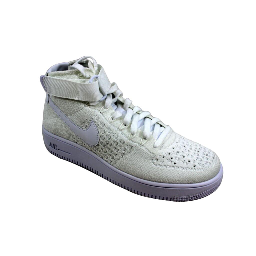 d22969640df0a Nike Air Force 1 Ultra Flyknit Mid White White 817420-102 Men s SZ 9 ...
