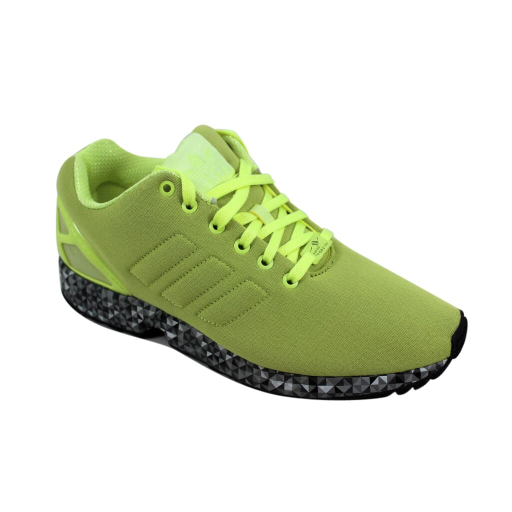 b79d928958a3b Adidas ZX Flux Frozen Yellow Black AF6305 Men s SZ 10