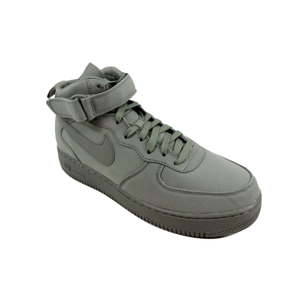 pretty nice 47426 281c4 Nike Air Force 1 Mid '07 Canvas Dark Stucco AH6770-001 Men's SZ 10 ...