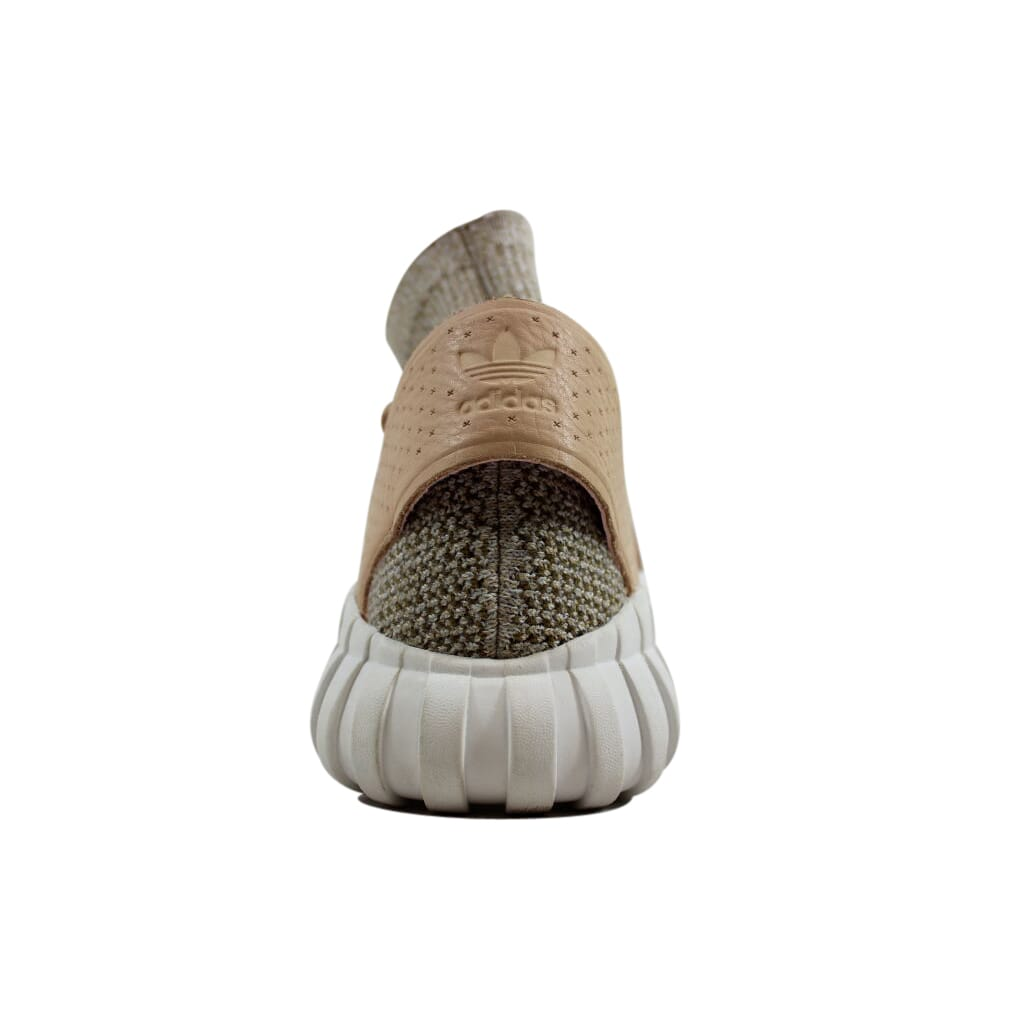 size 40 da1a6 a0e42 Mens adidas Tubular Doom Primeknit St Pale Nude Clear Brown Vintage White  Bb2390 US 13   eBay