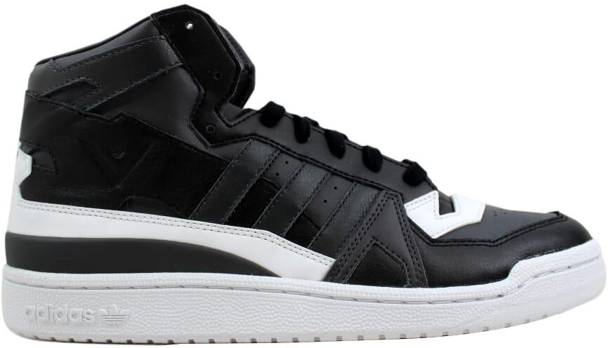 Adidas weiße bergsteigen forum mitte schwarz / grau - weiß s80484 männer sz 10