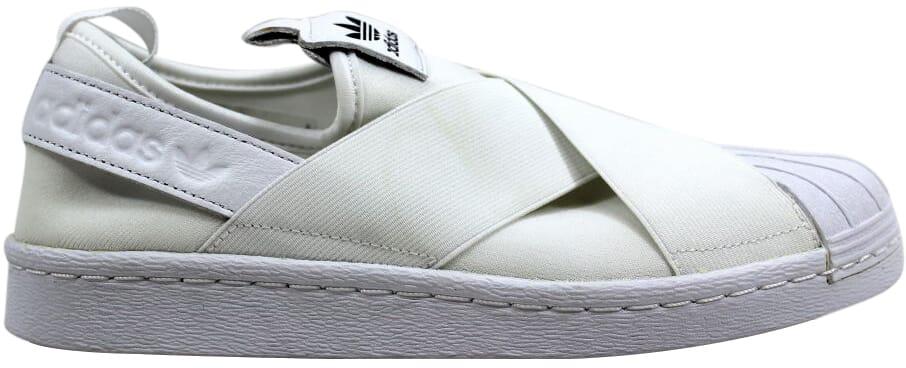 size 40 4870d dabc4 Image is loading Adidas-Superstar-Slip-On-W-White-White-Black-