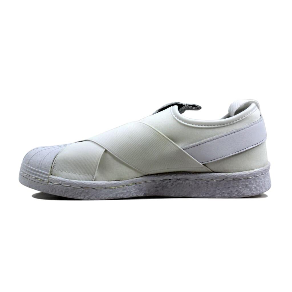 Adidas Superstar Slip On W WhiteWhite Black S81338 Women's Size 8.5