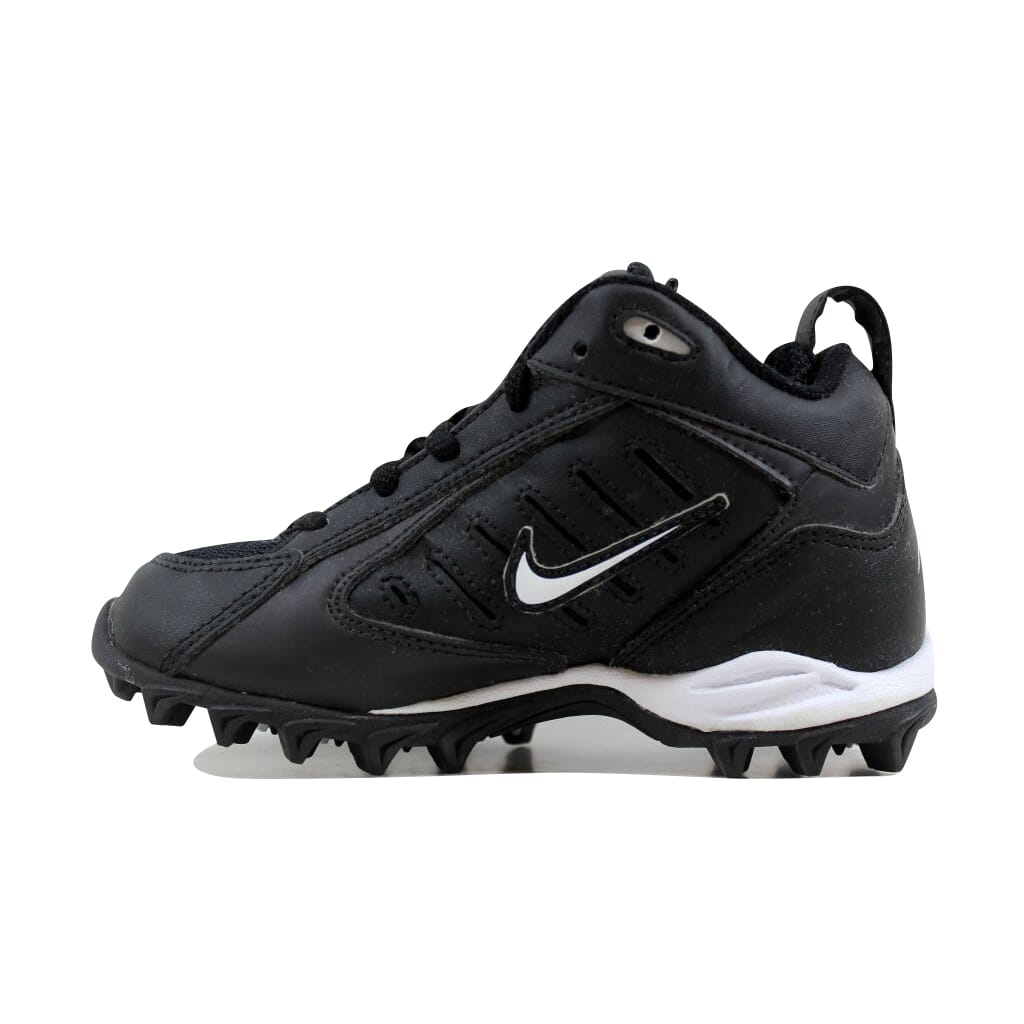 5c6e381febe Nike Land Shark Mid Black White 313400-011 Pre-School SZ 11Y ...