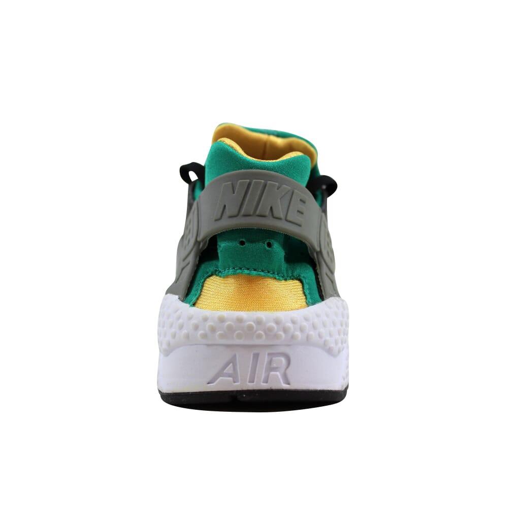 brand new dbb3d 194da Nike Air Huarache BlackWhite-Emerald-Resin 318429-018 Mens Size 7.5