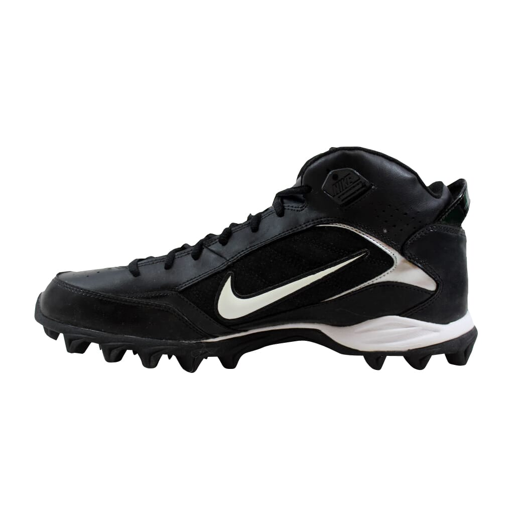 ee8cdacf273 Nike Land Shark Mid Black White 318728-011 Men s SZ 11.5 ...