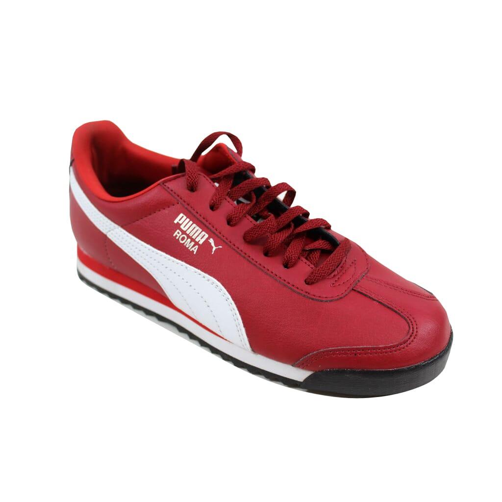 d59ce4bcd513 Puma Roma Basic Jr Rio Red White-Puma Silver 354259 31 Grade-School ...