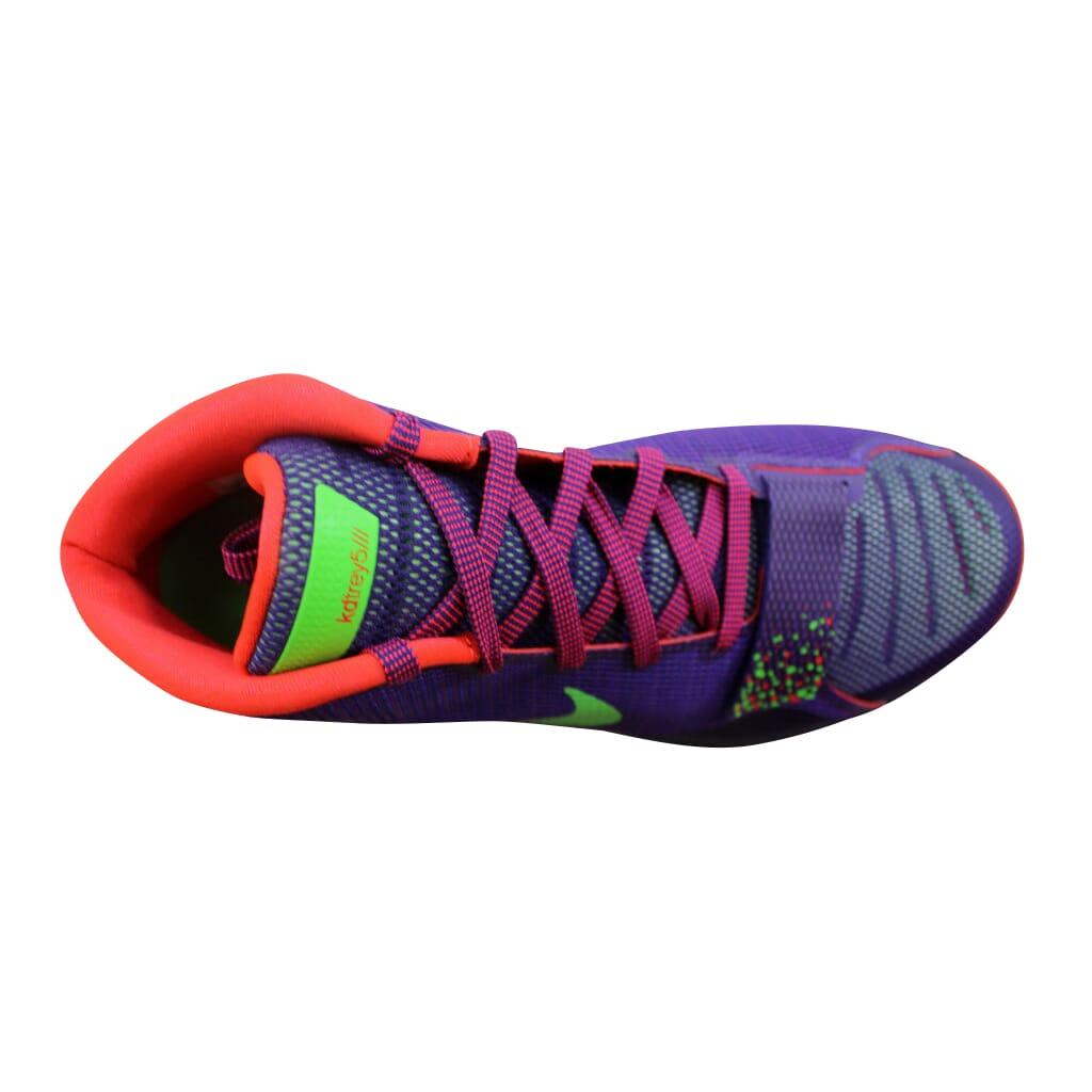 0bfbf86970a Nike KD Trey 5 III Court Purple Green Streak-Bright Crimson 749377 ...