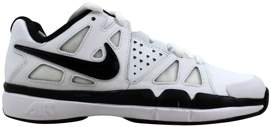ee18199841 Nike Air Vapor Advantage Leather White/Black-Dark Grey 839235-100 ...