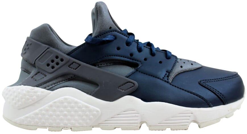 561f69a8532b6 Nike Air Huarache Run Premium TXT Cool Grey Armry Navy AA0523-001 ...