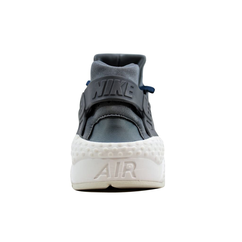 466f92ca0c906 Nike Air Huarache Run Premium TXT Cool Grey Metallic Armory Navy AA0523-001  Women s Size 7.5
