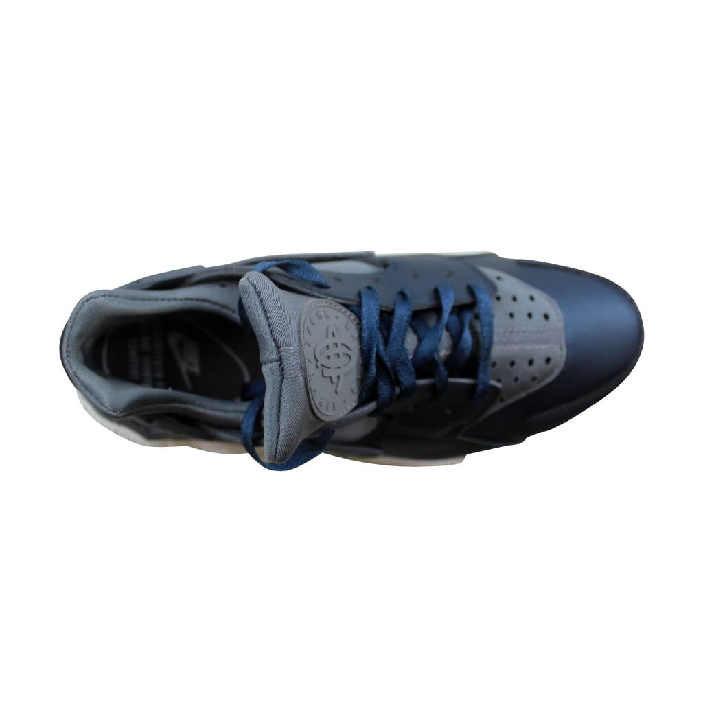 reputable site 5eb58 87520 Nike Air Huarache Run Premium TXT Cool Grey/Armry Navy AA0523-001 ...